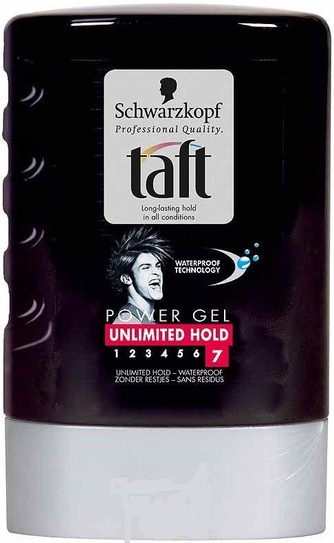 Taft Power Haargel Tube - Unlimited Hold N7 300 ml