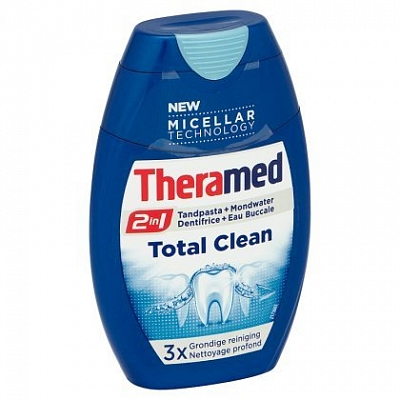 Theramed Tandpasta 2in1 Total Clean