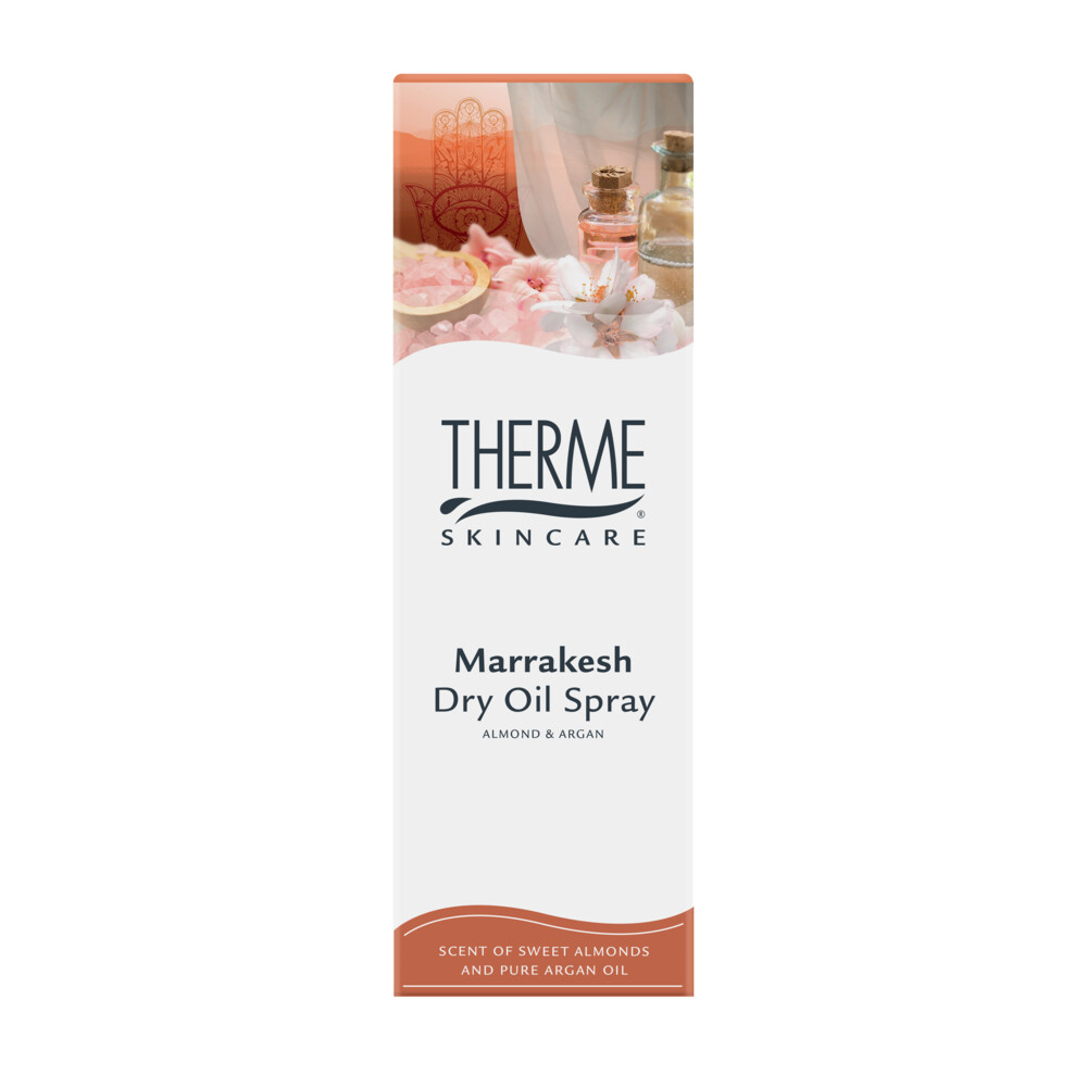 Therme Dry Oil Spray Marrakesh Almond&Argan 125 ml