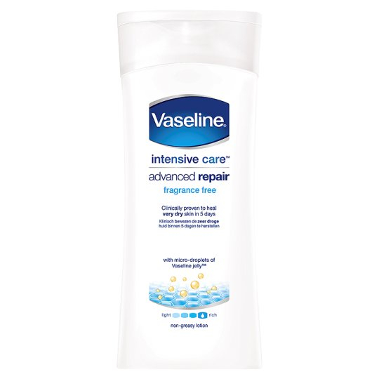 Vaseline Bodycreme Mature Skin - 400 ml