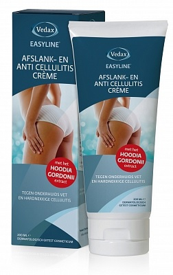 Vedax Easyline - Afslank en Anti Cellulitiscreme 200 ml