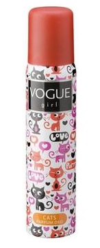 Vogue Girl Cats Deodorant Deospray