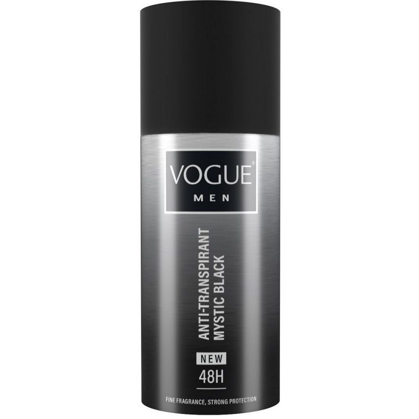 Vogue Men Black Mystic Deodorant Spray 150ml
