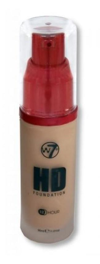 W7 HD Foundation - True Beige 30 ml