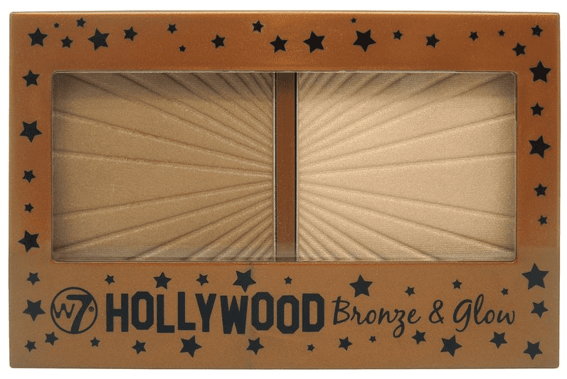 W7 Hollywood Palette - Bronze & Glow 13g