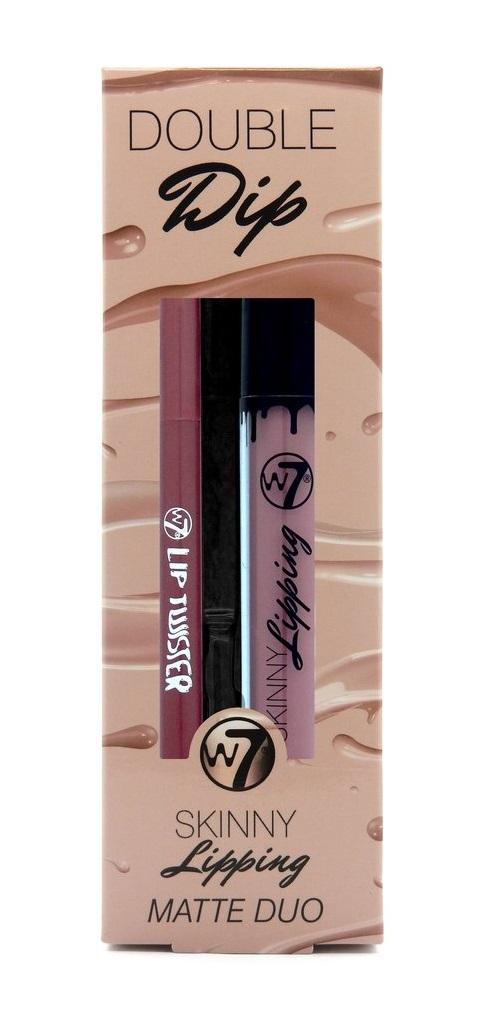 W7 Lipstick & Lipliner - Double Dip Off The Wall