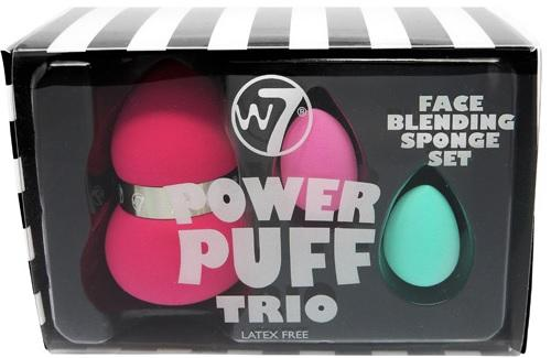 W7 Power Puff Face Trio
