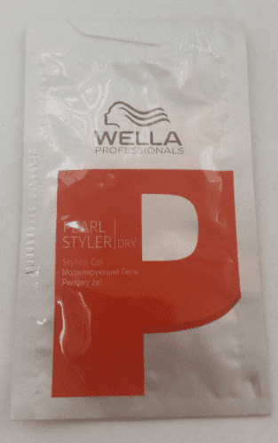 Wella Professional Gel - Pearl Styler Hold 3 - 6ml