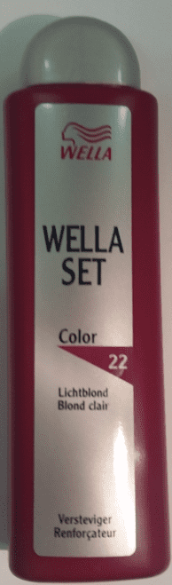 Wella Set Versteviger - Color Lichtblond nr22 100ml