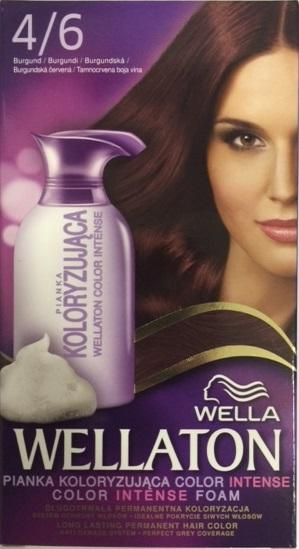 Wella Wellaton Color Mousse - 4/6 bordeaux