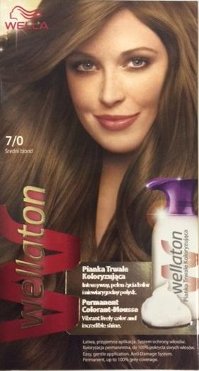 Wella Wellaton Color Mousse - 7/0 Medium Blond