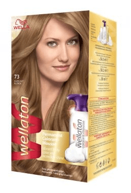 Wella Wellaton Color Mousse - 7/3 Hazelnoot Blond