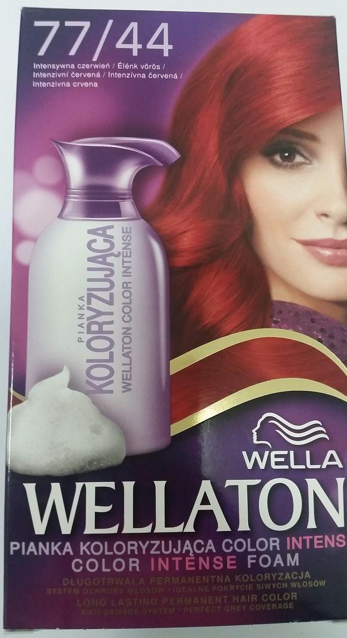 Wella Wellaton Color Mousse - 77/44 Intens Rood