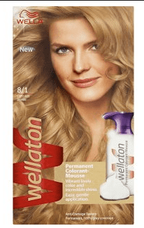 Wella Wellaton Color Mousse - 8/1 Licht As Blond