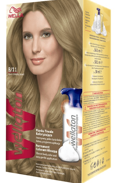 Wella Wellaton Color Mousse - 8/11 Koel Licht Blond