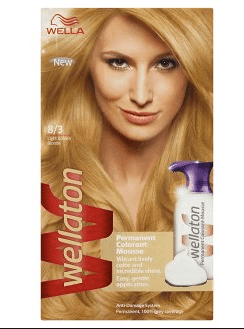 Wella Wellaton Color Mousse - 8/3 Goudblond