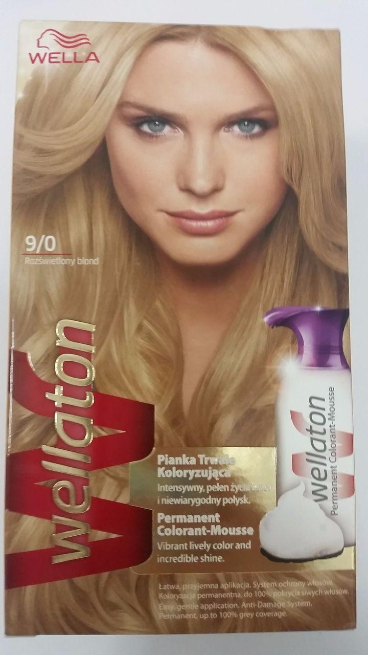 Wella Wellaton Color Mousse - 9/0 Licht Blond
