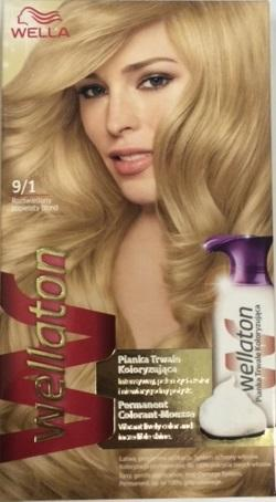 Wella Wellaton Color Mousse - 9/1 Licht Asblond