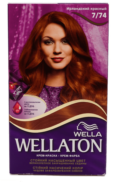 Wella Wellaton Haarverf - 7/74 Irish Red