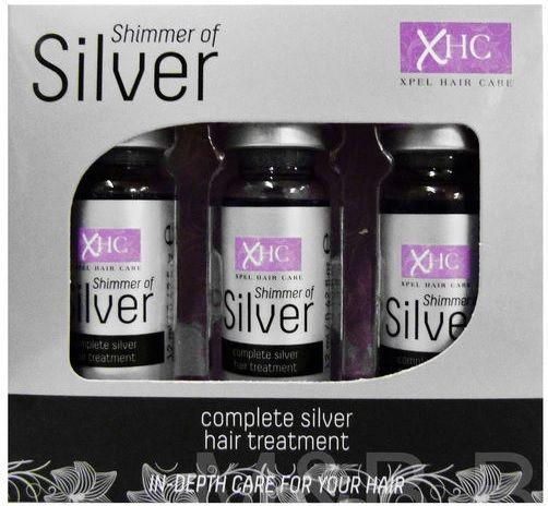 XHC Silver Shimmer Hair Treatment - 3x12ml