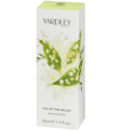 Yardley Lily Eau De Toilette Spray (50ml)