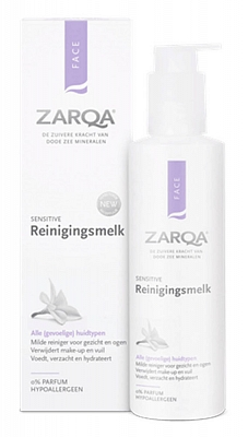 Zarqa Reinigingsmelk Sensitive