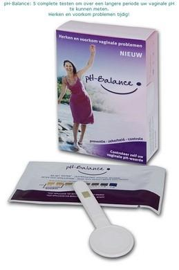 pH-Balance vaginale pH zelftest (5 testen)