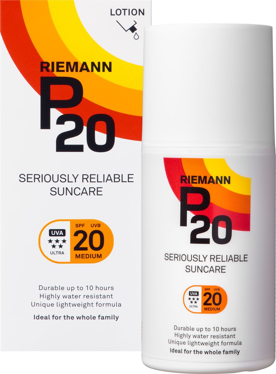 P20 Zonnebrand lotion - SPF 20 - 200 ml