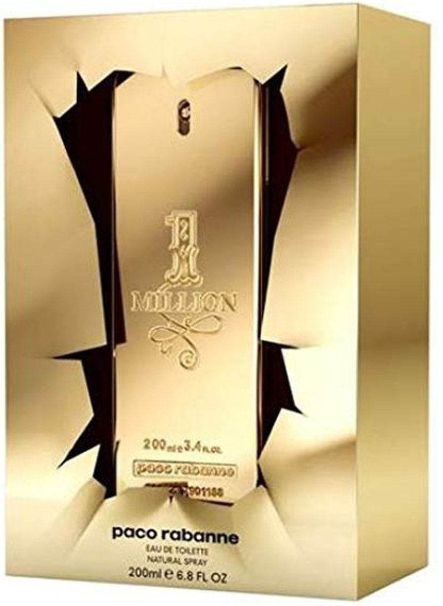 Herenparfum 1 Million Paco Rabanne EDT (200 ml)