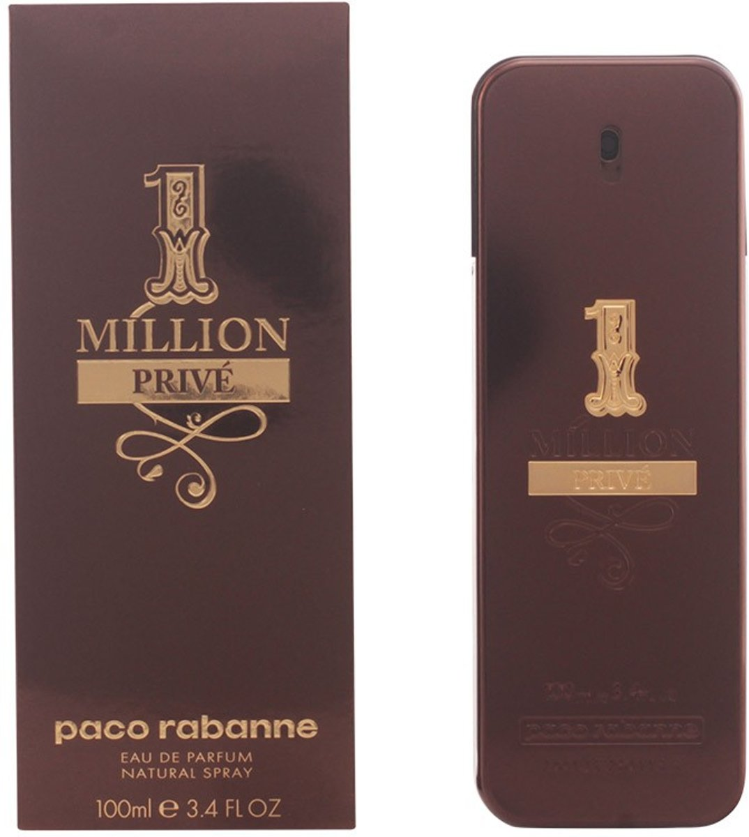 MULTI BUNDEL 2 stuks 1 MILLION PRIVÉ Eau de Perfume Spray 100 ml