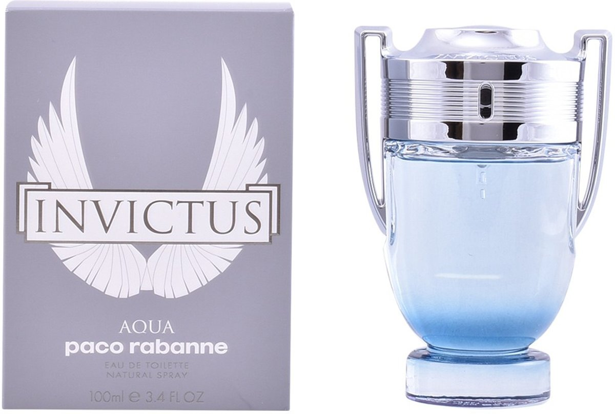 MULTI BUNDEL 2 stuks INVICTUS AQUA Eau de Toilette Spray 100 ml