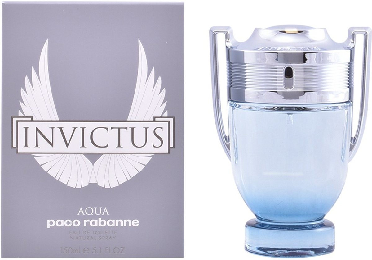 MULTI BUNDEL 2 stuks INVICTUS AQUA eau de toilette spray 150 ml