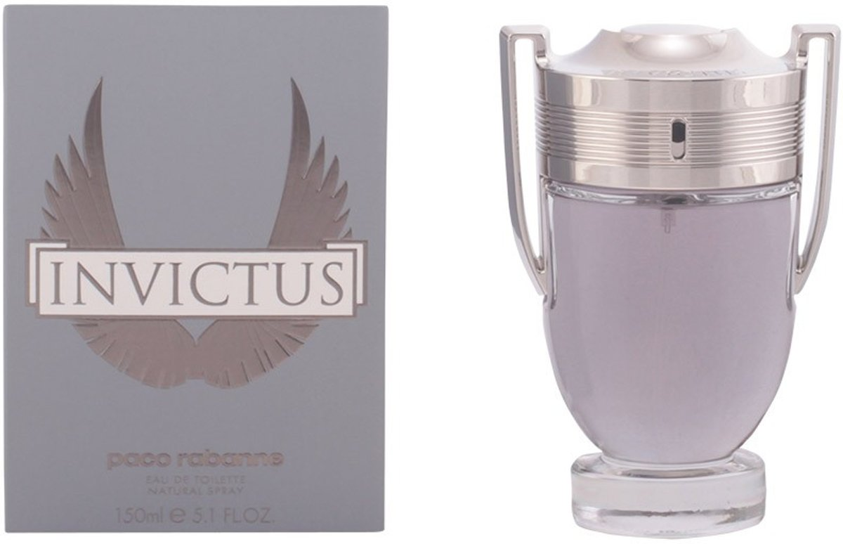 MULTI BUNDEL 2 stuks INVICTUS Eau de Toilette Spray 150 ml