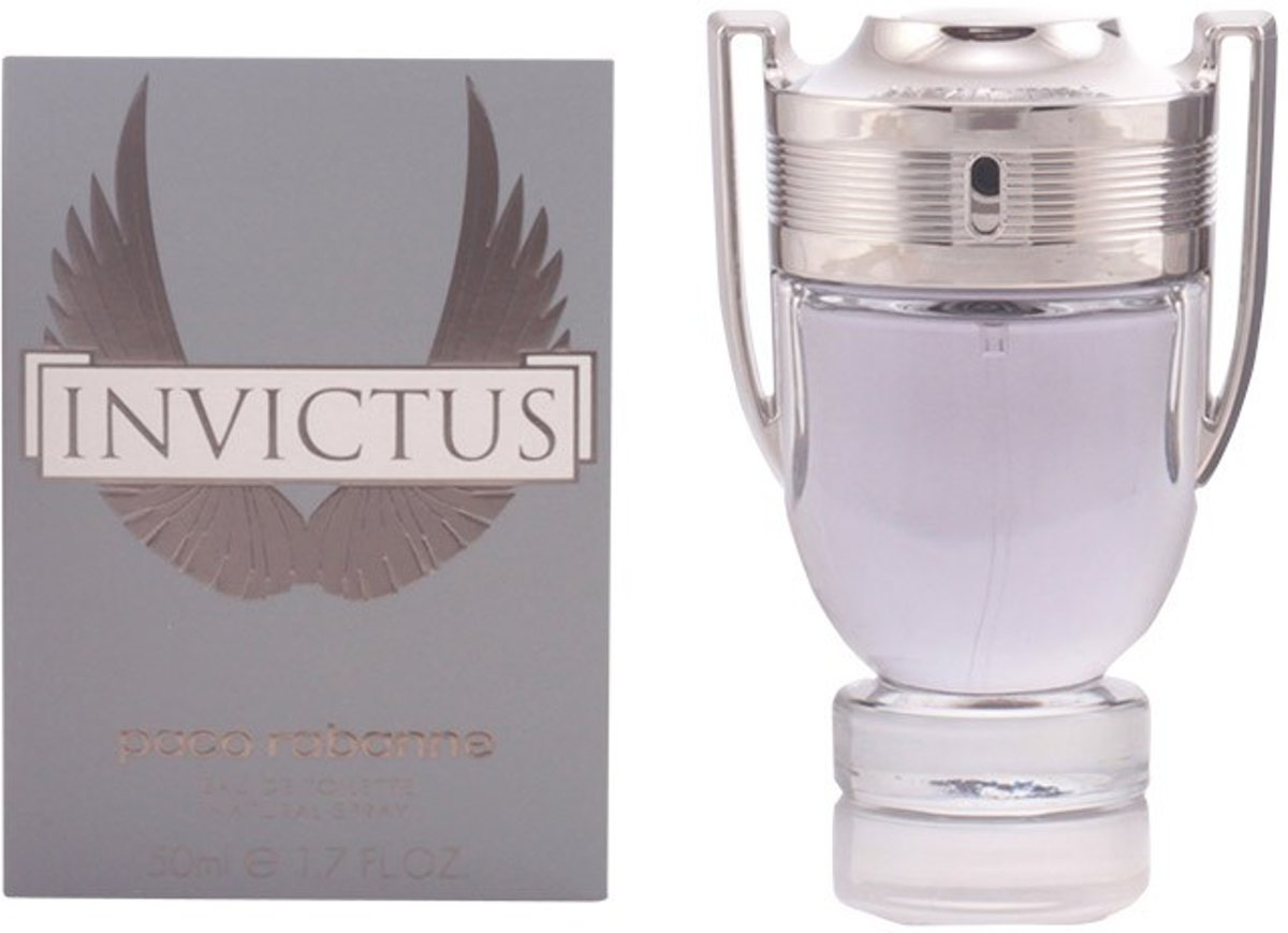 MULTI BUNDEL 2 stuks INVICTUS Eau de Toilette Spray 50 ml