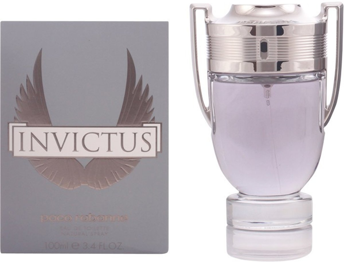 MULTI BUNDEL 2 stuks INVICTUS eau de toilette spray 100 ml
