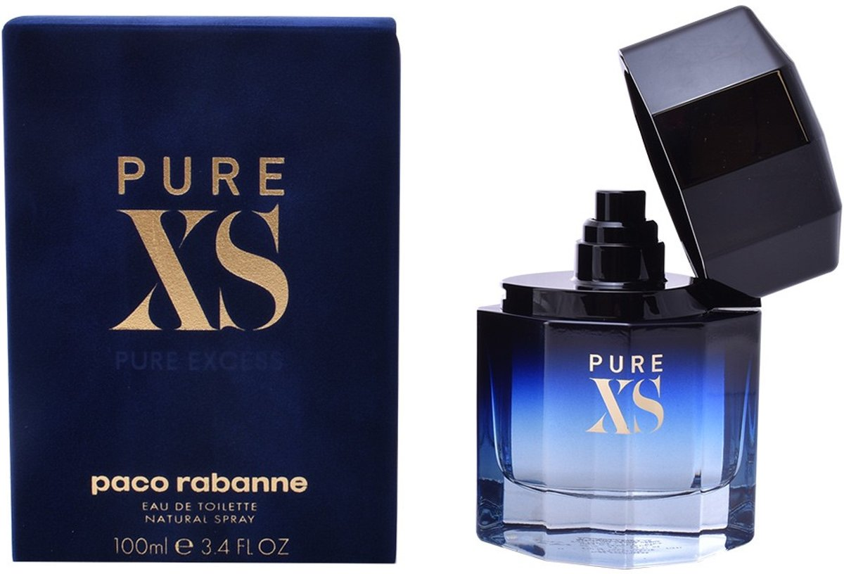 MULTI BUNDEL 2 stuks PURE XS Eau de Toilette Spray 100 ml