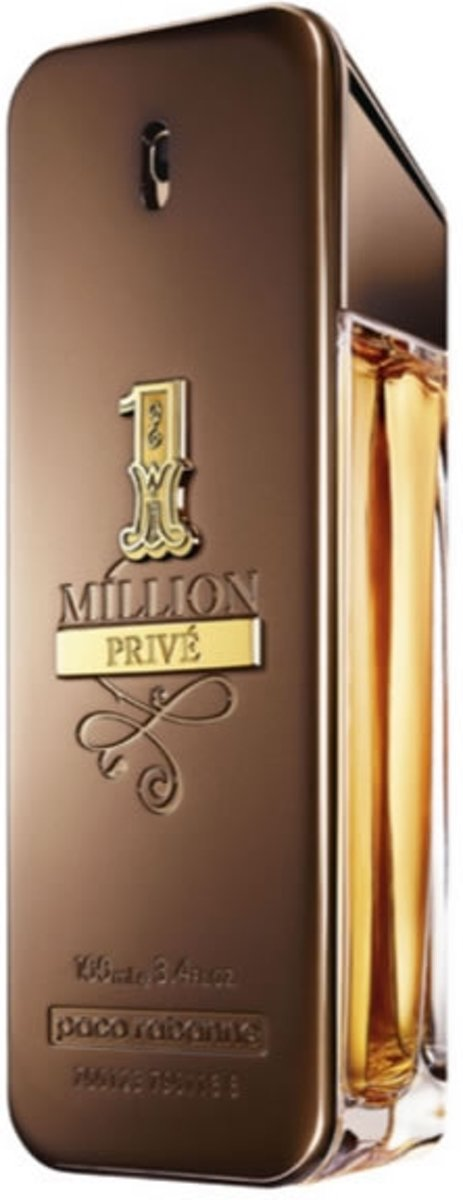 MULTI BUNDEL 2 stuks Paco Rabanne 1 Million Prive Eau De Perfume Spray 100ml