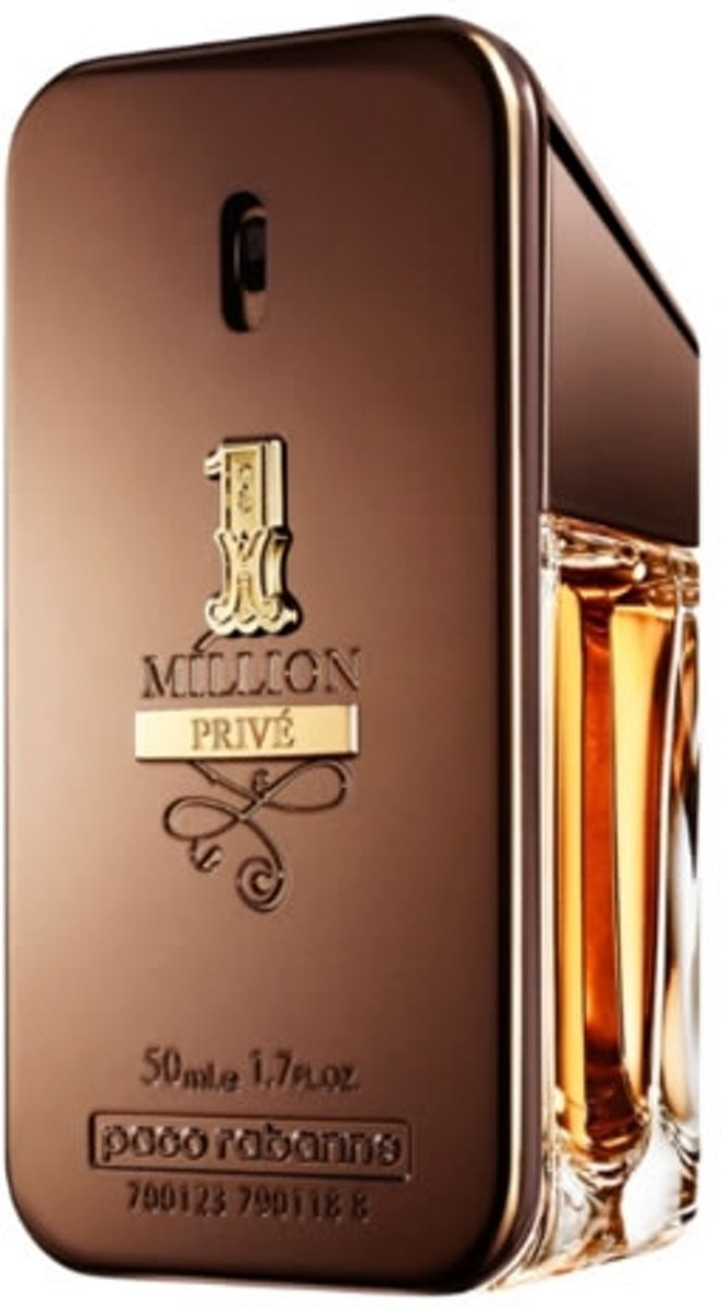 MULTI BUNDEL 2 stuks Paco Rabanne 1 Million Prive Eau De Perfume Spray 50ml