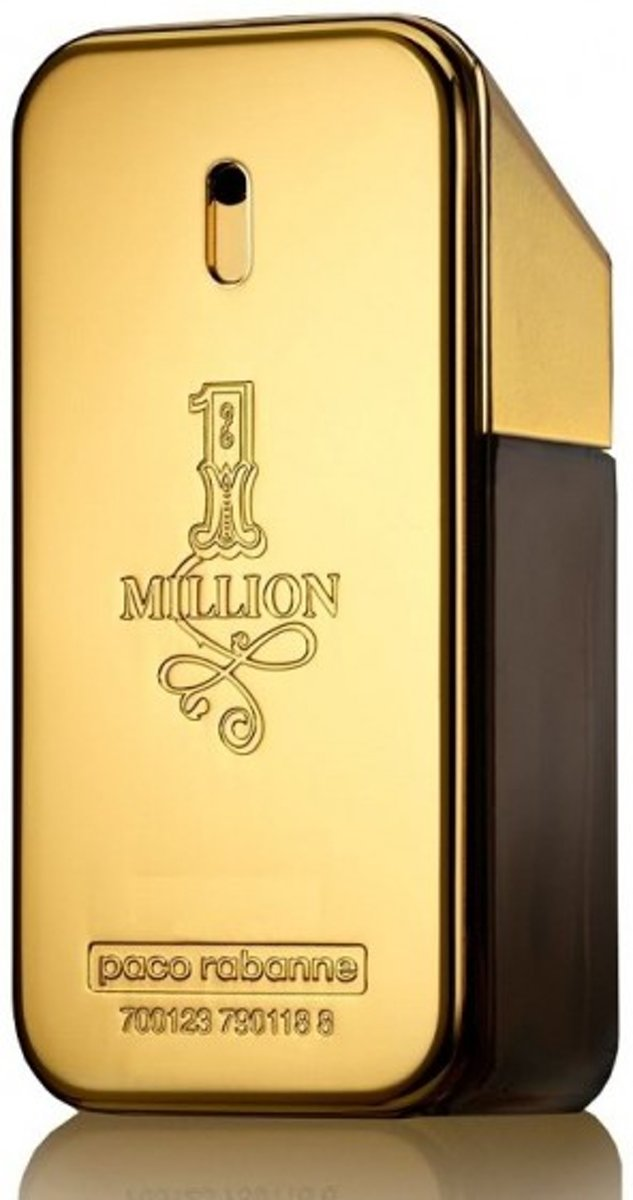 MULTI BUNDEL 2 stuks Paco Rabanne One Million Eau De Toilette Spray 100ml