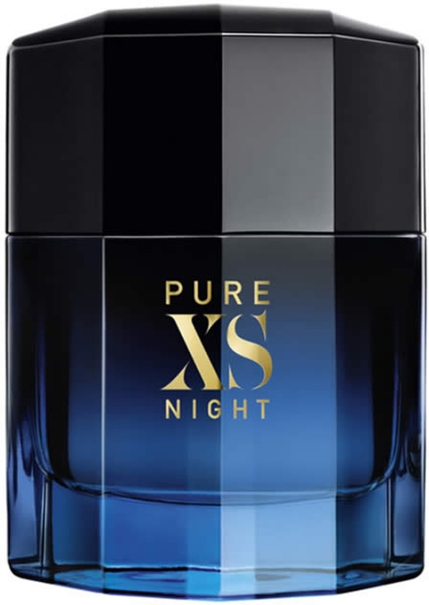 MULTI BUNDEL 2 stuks Paco Rabanne Pure Xs Night Eau De Perfume Spray 100ml