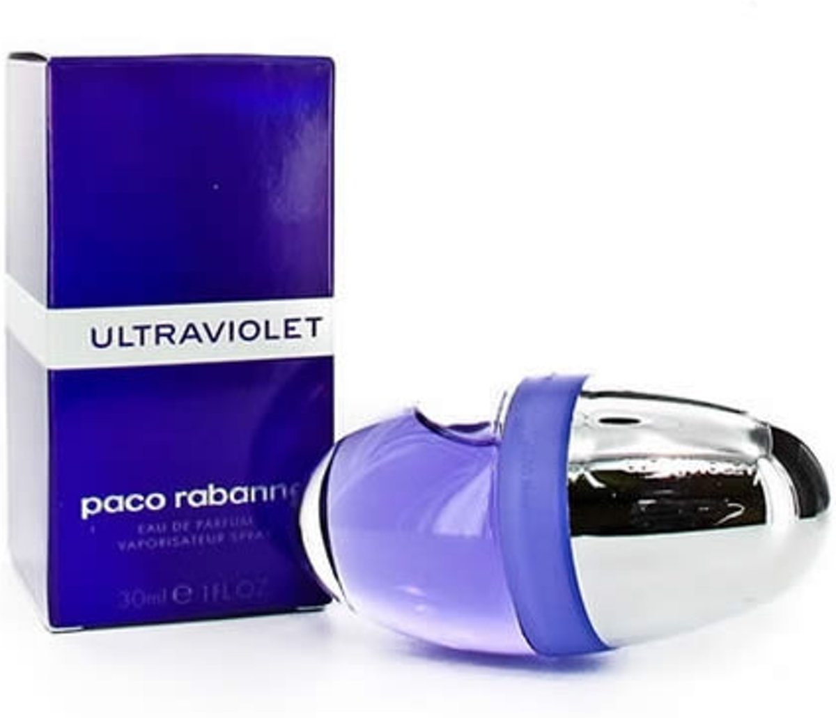 MULTI BUNDEL 2 stuks Paco Rabanne Ultraviolet Eau De Perfume Spray 30ml