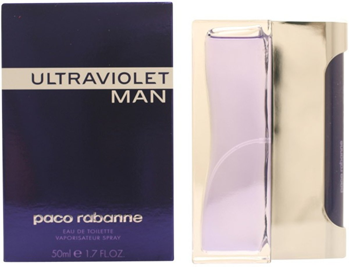 MULTI BUNDEL 2 stuks ULTRAVIOLET MAN Eau de Toilette Spray 50 ml