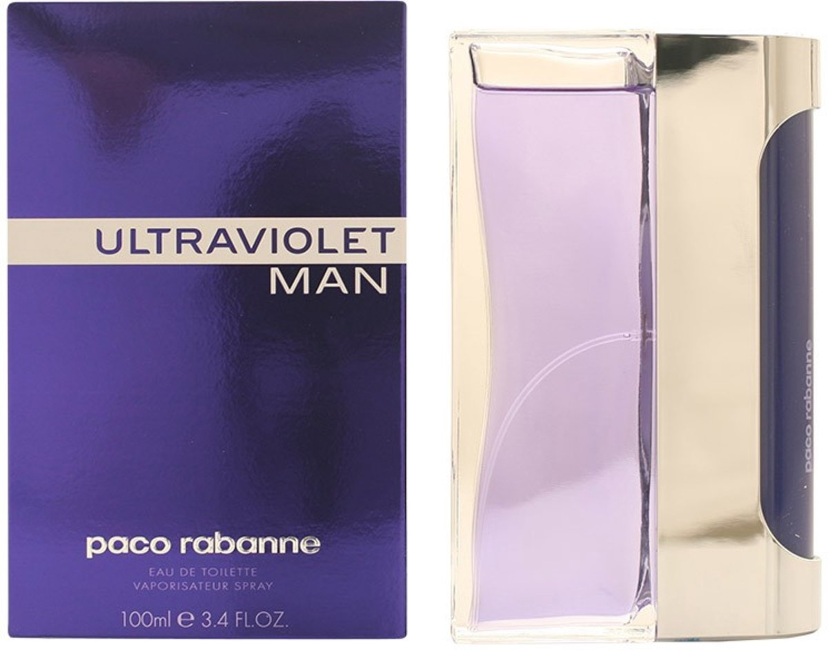MULTI BUNDEL 2 stuks ULTRAVIOLET MAN eau de toilette spray 100 ml