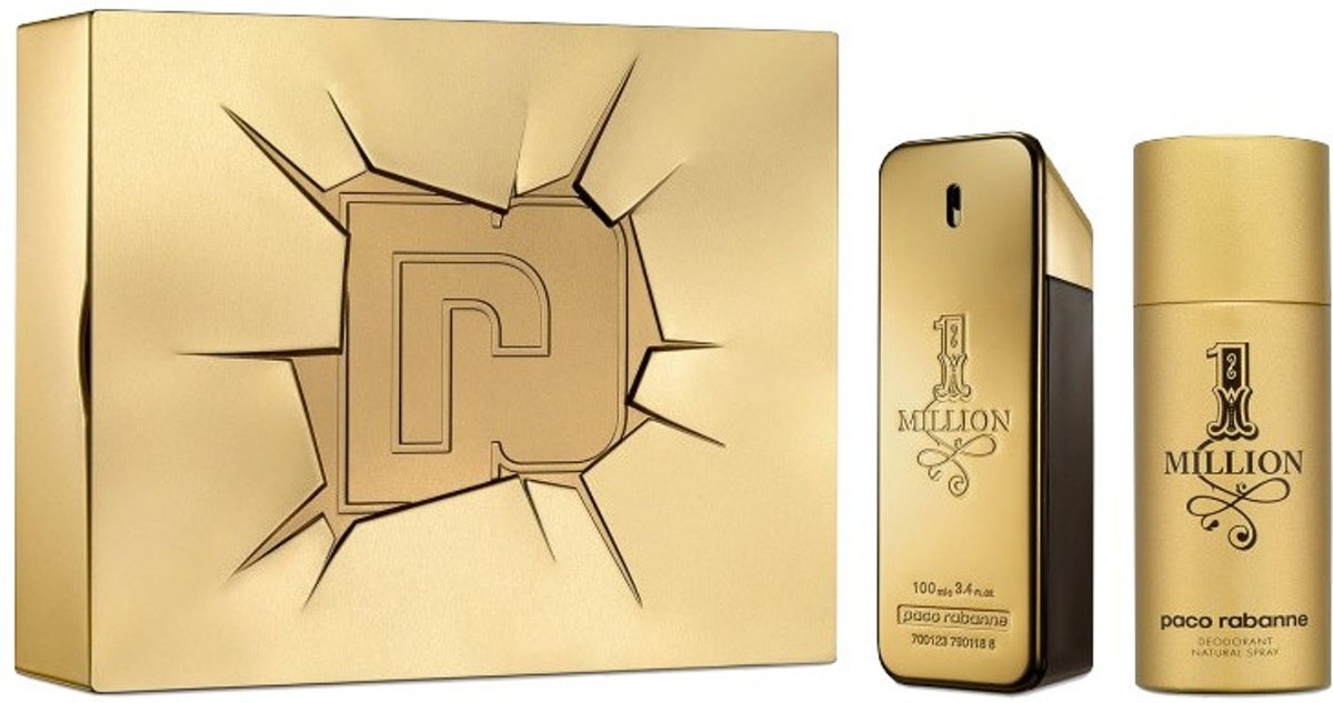 PACO R. ONE MILLION(M)SET EDT 100ML+DEO150ML