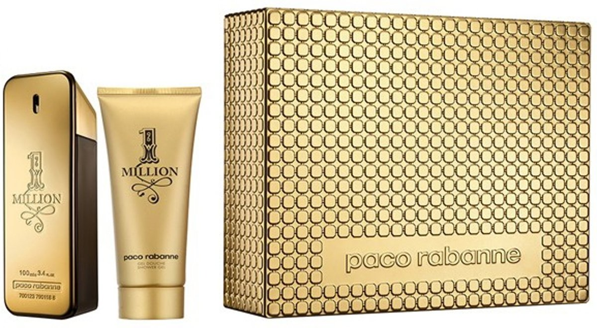 Paco Rabanne - Eau de toilette - 1 million 100ml eau de toilette + 100ml showergel - Gifts ml
