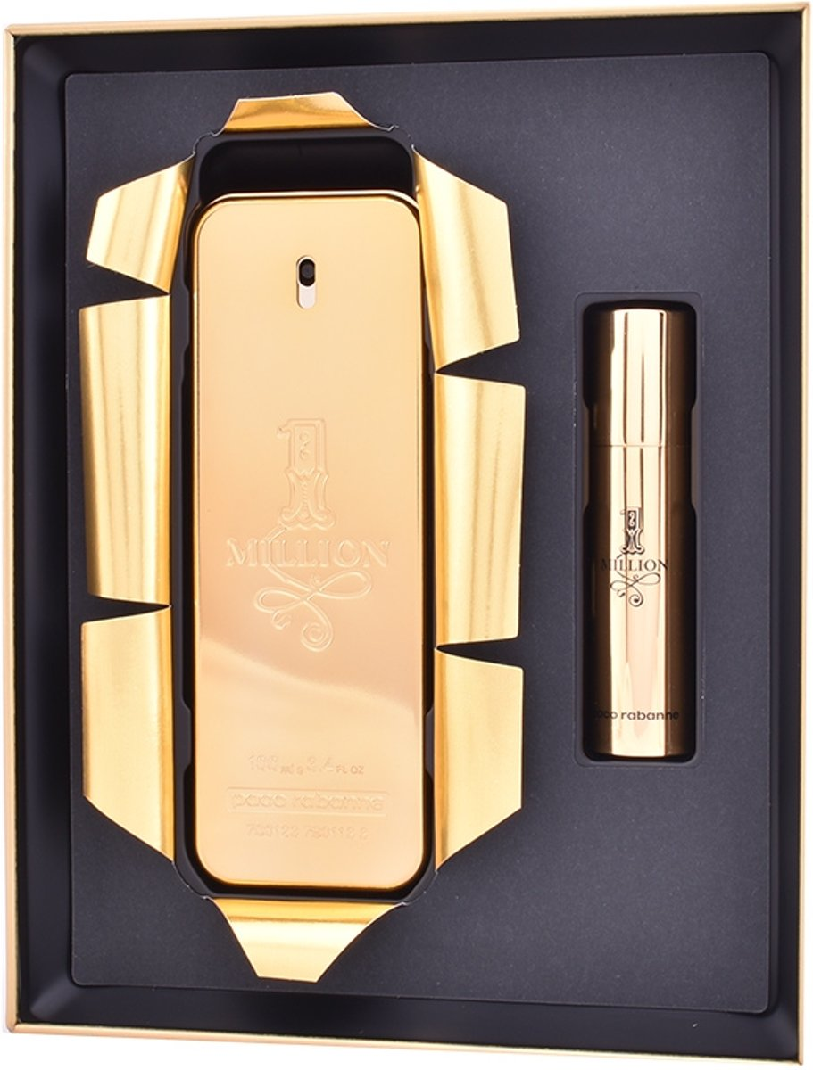 Paco Rabanne 1 Million Collectors Edition Gift Set 100ml EDT + 10ml EDT