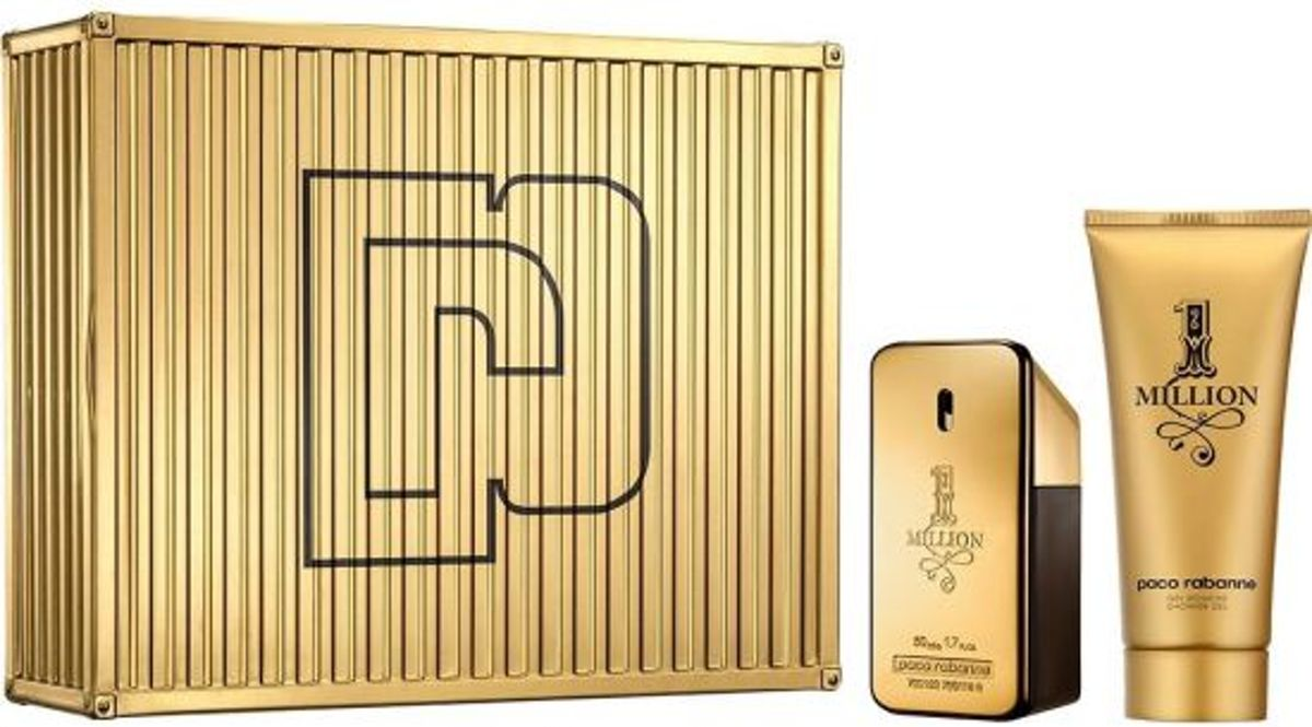 Paco Rabanne 1 Million giftset Eau de toilette 50 ml en shower gel 100 ml