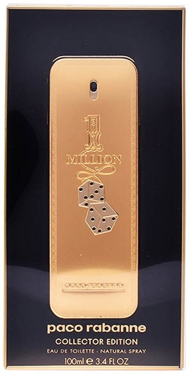Paco Rabanne Eau De Toilette 1 Million Col. Edit. Monopoly 100 ml - Voor Mannen