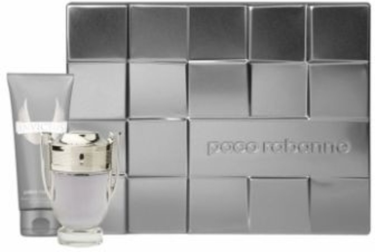 Paco Rabanne Invictus 50 ml - Eau de toilette - for Men - Geschenkset 2-delig