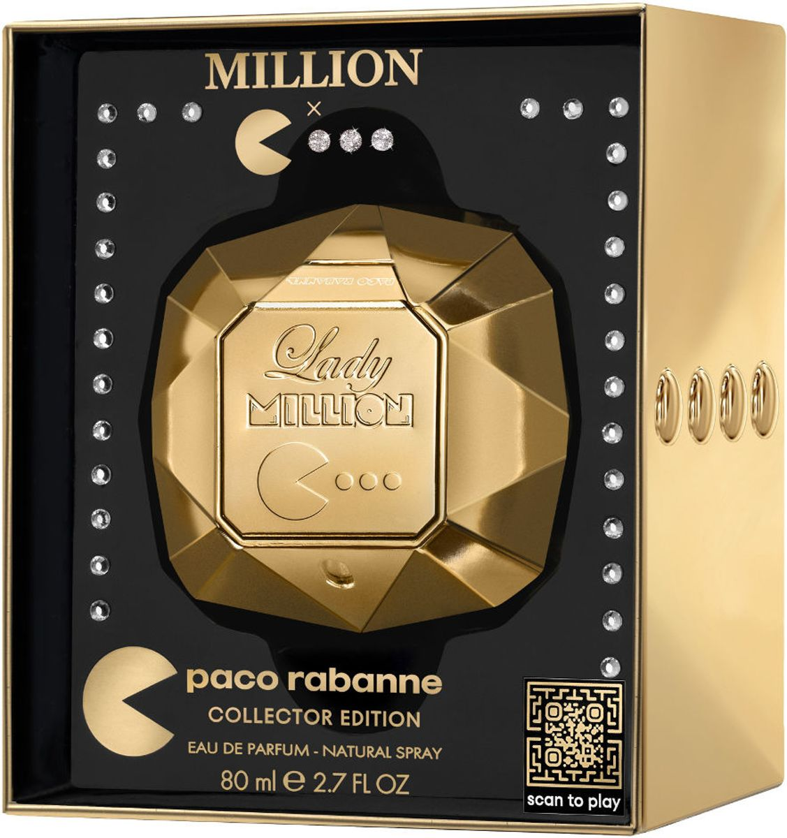 Paco Rabanne Lady Million 80ml EDP Spray Pacman Edition